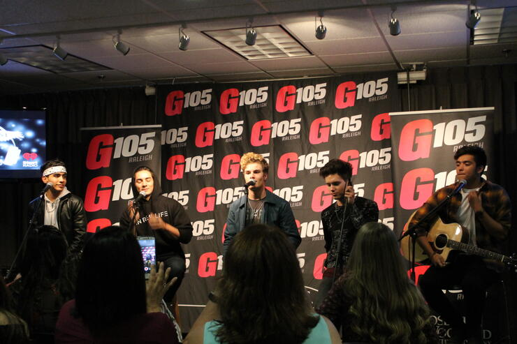 Photos in real life performance and meet greet iheartradio m4hsunfo
