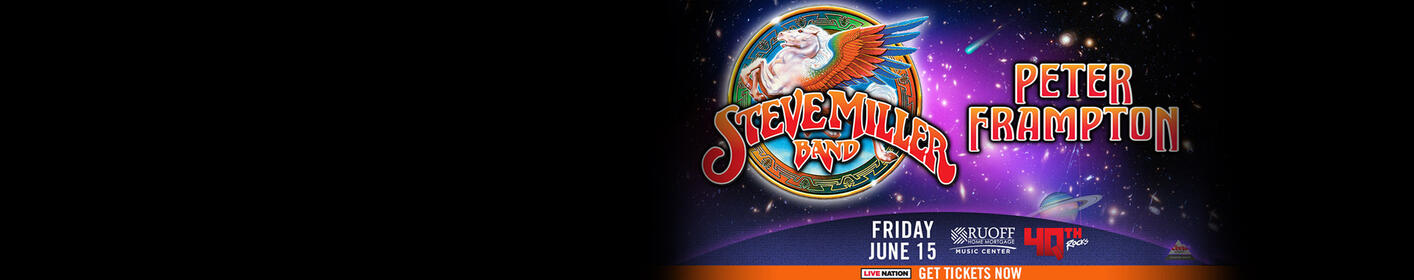 Tickets On Sale Now - Steve Miller Band and Peter Frampton