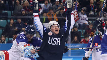 None - Team USA Men's Hockey Team Bounces Back With Win Over Slovakia