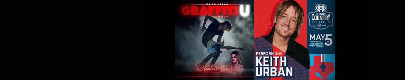 Score tickets to see Keith Urban at Target Center AND at our iHeartCountry Festival