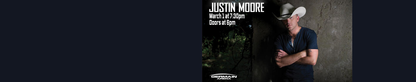 Justin Moore | Hell on a Highway Tour | Germain Arena