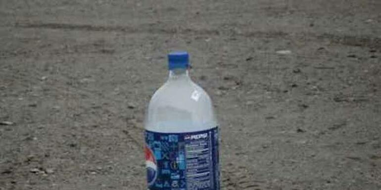 If You See A Bottle With Aluminum Foil In It, Back Away And Call The Police