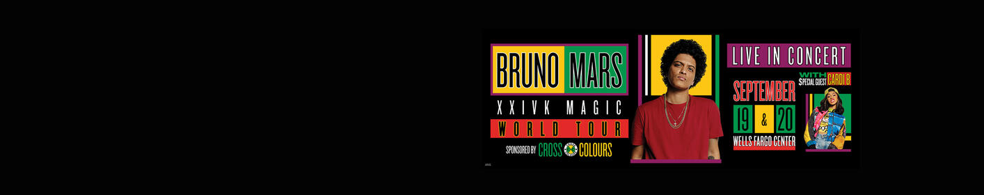 Enter To Win Tickets To See Bruno Mars!