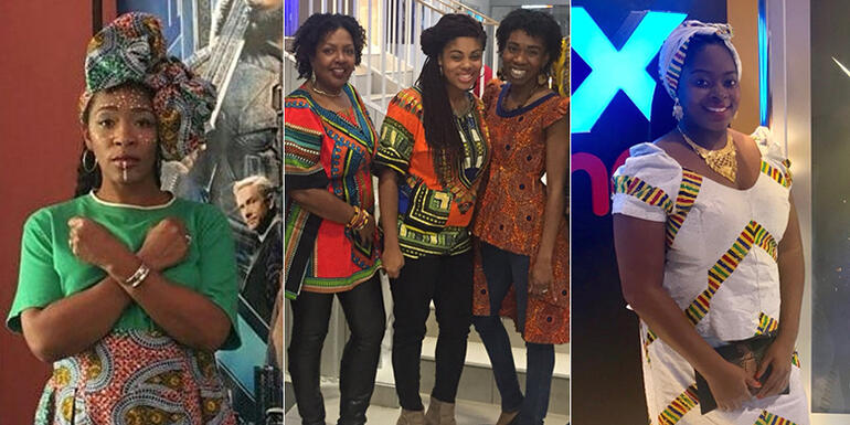 'Black Panther' Moviegoers Slayed In Their African-Inspired Outfits