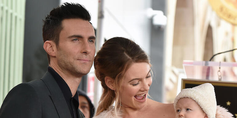 Adam Levine & Behati Prinsloo Welcome Second Daughter
