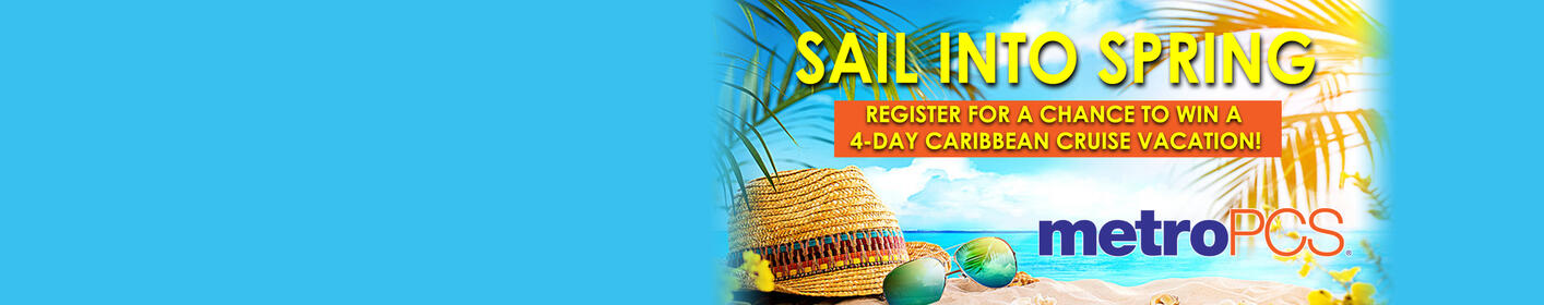 Sign Up To Win A 4-Day Caribbean Cruise Vacation From metroPCS & 560 KLVI