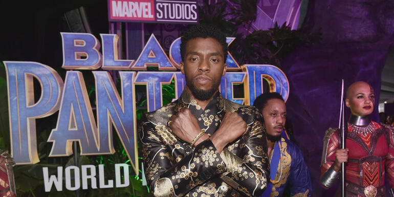 Two Guys in a Trenchcoat Trick Tried at Black Panther Screening
