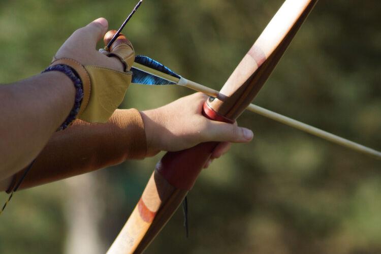Bow and Arrow Getty RF