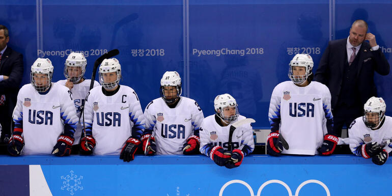 U.S. Women's Hockey Will Play For Gold At Winter Olympics