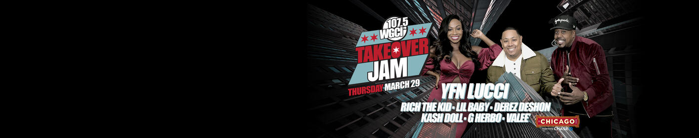 """Takeover Jam 2018!  """"The Show for The Culture""""  Enter To Win Tickets!"""