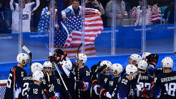 None - U.S. Men's Hockey Team Beats Slovakia To Advance To Quarterfinals