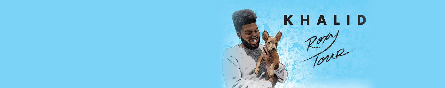 Don't miss Khalid at Festival Pier on May 25th!
