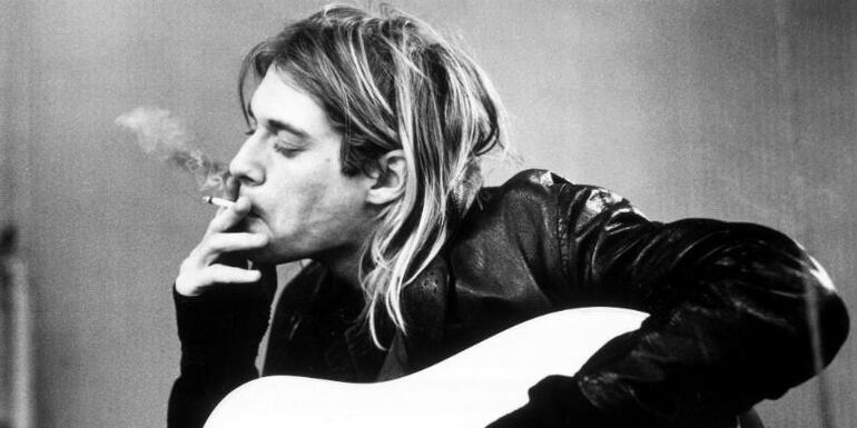 Listen To Kurt Cobain's Isolated Vocals on 'Smells Like Teen Spirit'