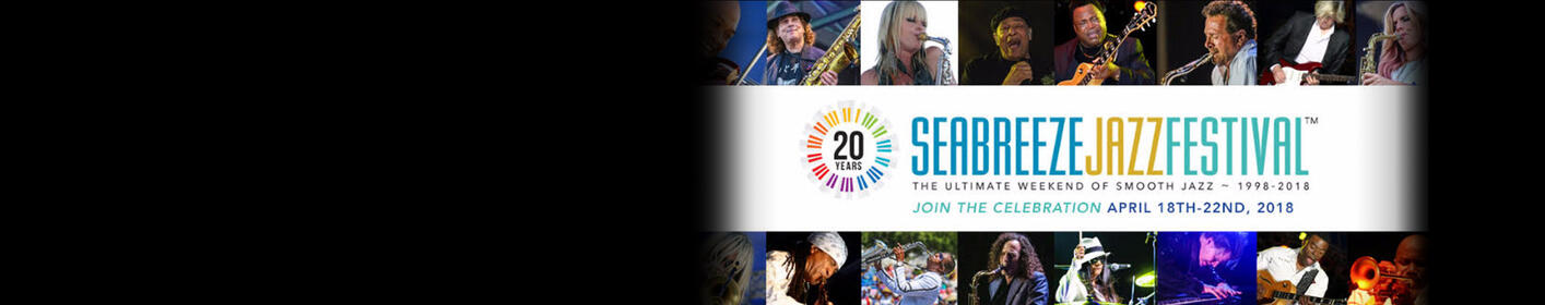 Win YOUR trip to he Seabreeze Jazz Festival in Panama City Beach, Florida!