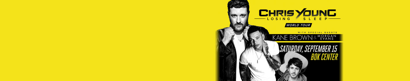 Chris Young - September 15th - BOK Center. Win Tickets Here