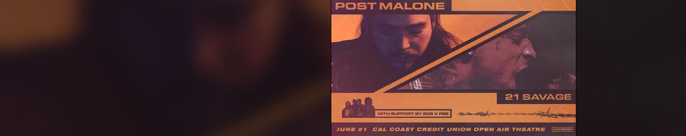 Win Post Malone, 21 Savage and SOB x RBE Tickets