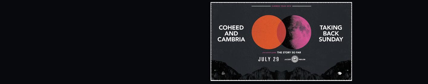 Win tickets to see Coheed and Cambria and Taking Back Sunday!