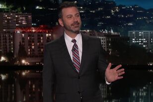Here's Why Jimmy Kimmel Was Smirking During Fergie's National Anthem