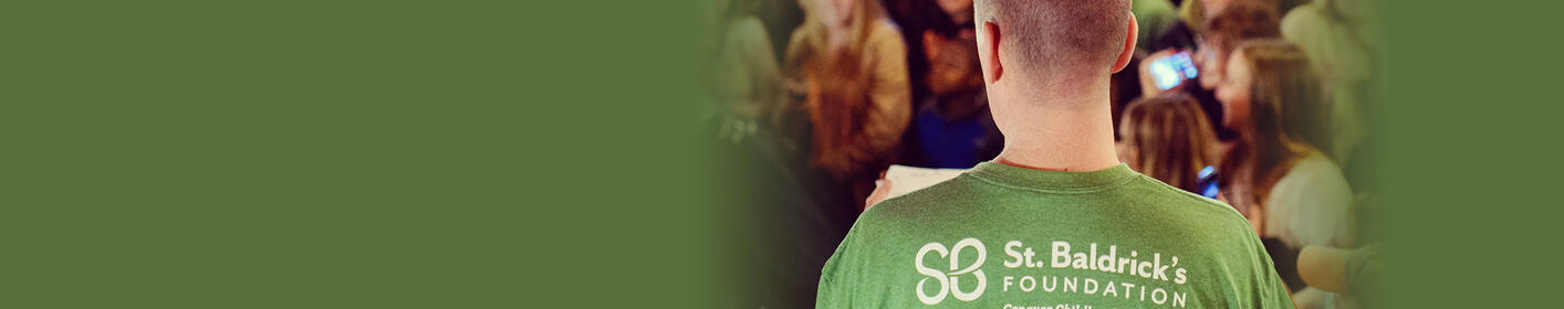 It's time for Billy to be bald again! St. Baldrick's, March 10th at Helen Fitzgeralds.