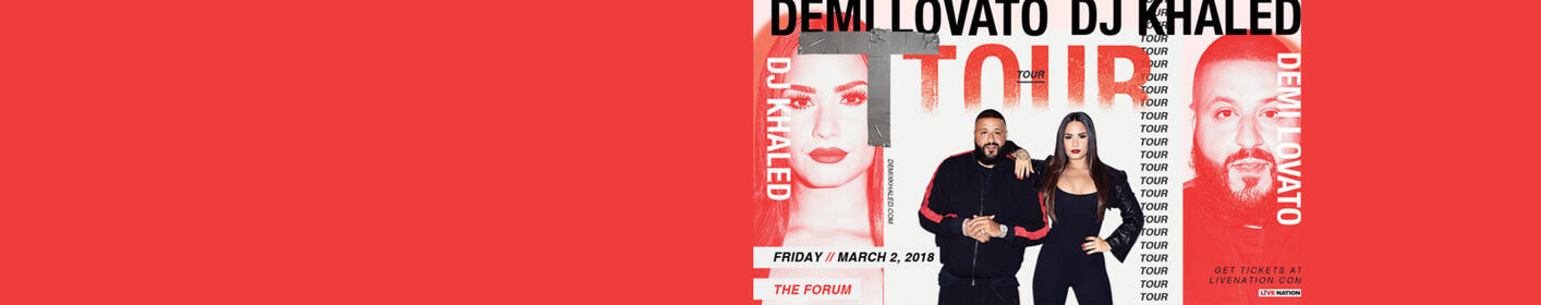 Enter to win FRONT ROW tickets to see Demi Lovato & DJ Khaled! + Meet Demi!