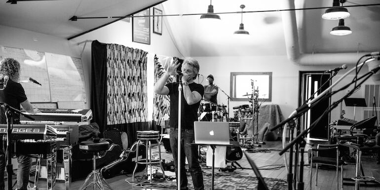 A Behind-The-Scenes Look at Bon Jovi's Tour Rehearsals (PHOTOS) | EXCLUSIVE