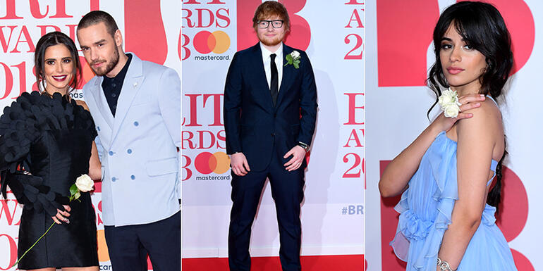 Red Carpet At The 2018 BRIT Awards