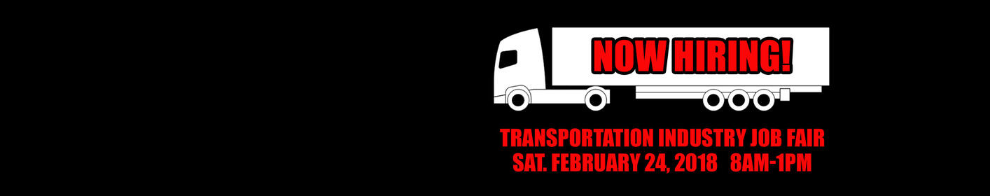 Come out this Saturday for the Transportation Industry Job Fair at the Harrisburg Mall!
