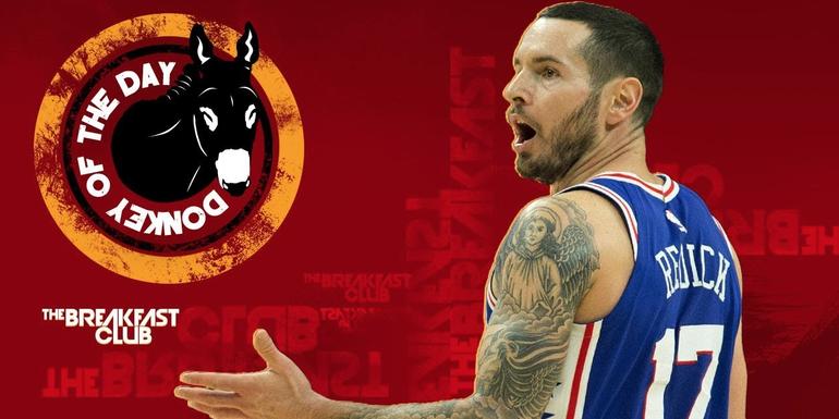 Philadelphia 76ers' JJ Redick Slips Racial Slur Into Chinese New Year Video