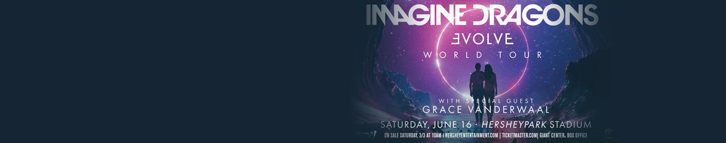 Win a pair of tickets for Imagine Dragons in Hershey on June 16th!