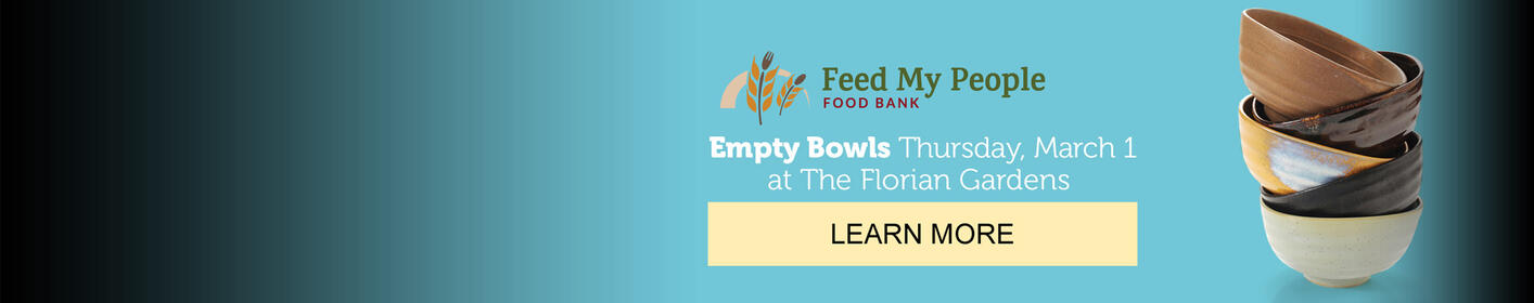 Get you tickets here for Empty Bowls March 1st!