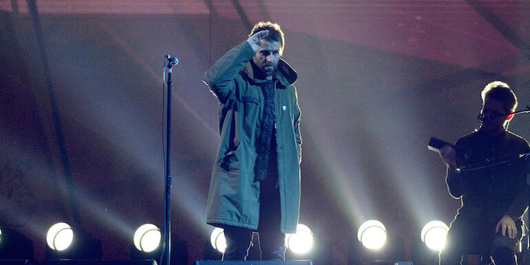 Liam Gallagher Pays Tribute To Manchester Victims at BRIT Awards