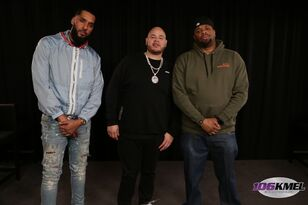 Fat Joe and Dre in the #KMELVIPLounge 2.21.18
