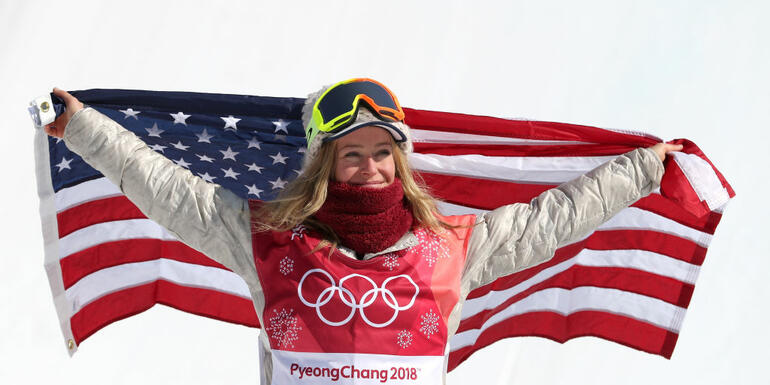 American Jamie Anderson Wins Silver In Big Air Event