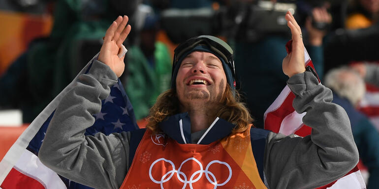 Americans Win Gold And Silver In Skiing Halfpipe Event