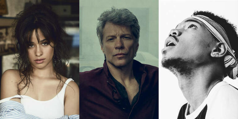Bon Jovi, Camila Cabello & More To Be Honored At iHeartRadio Music Awards