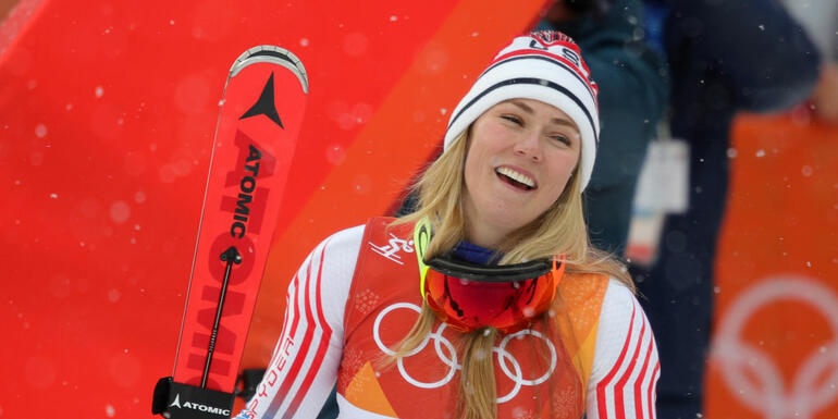 Shiffrin Wins Silver, Vonn Fails To Medal In Alpine Combined