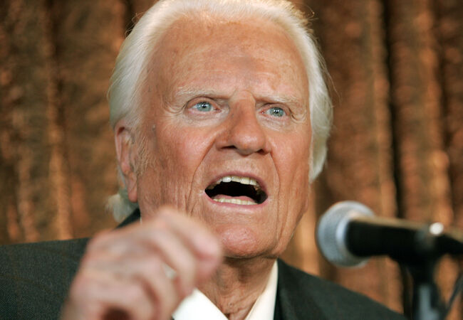 Billy Graham Getty