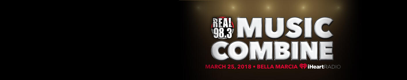 Get Tickets To The REAL 98.3 Music Combine