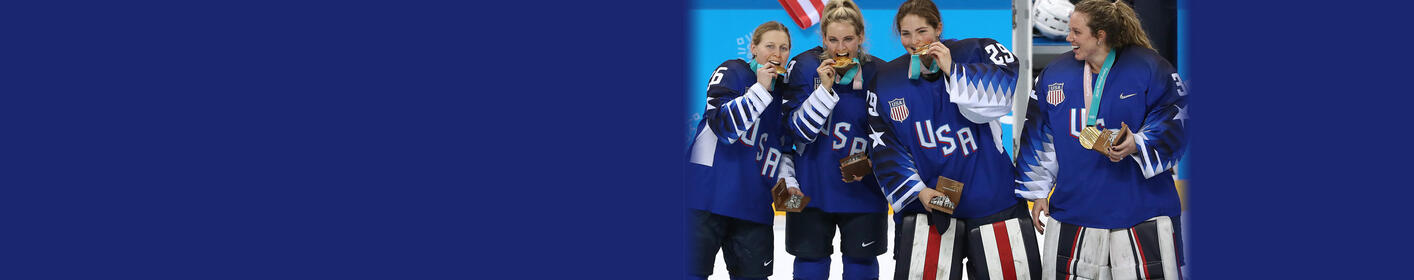 Team USA Goes For The Gold In The 2018 Winter Olympics!