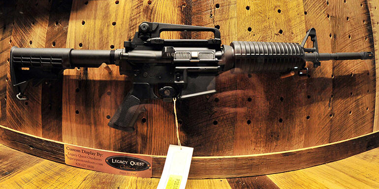 Church To Hold Blessing Ceremony For AR-15s
