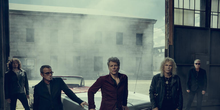 "Bon Jovi Shares New Single ""When We Were Us"""