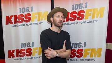 Photos - Mat Kearney at 106.1 KISS FM Meet and Greet Photos