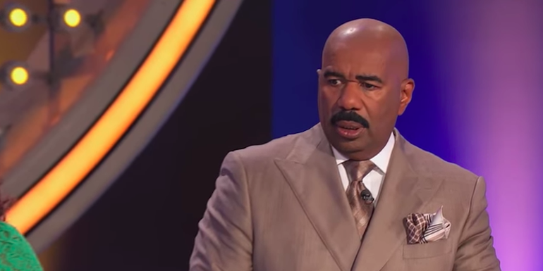 Contestant's Family Feud Answer Offends Steve Harvey