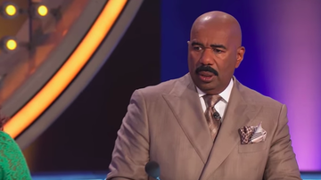 Steve Harvey Morning Show - Contestant's Family Feud Answer Offends Steve Harvey