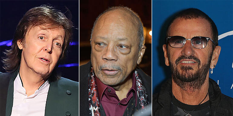 "Quincy Jones Is Sorry for Calling The Beatles ""No-Playing Motherf---ers"""