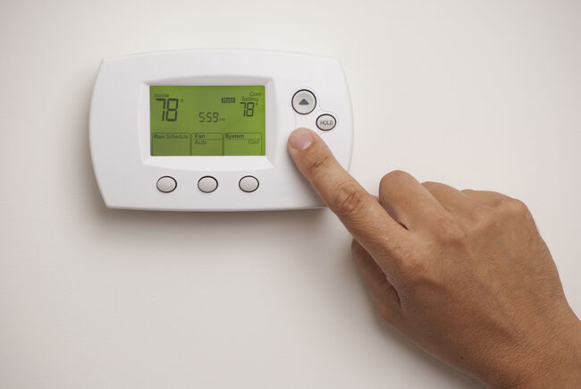 Thermostat Getty Images