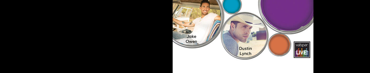 Register for your chance to win tickets to see Jake Owen + Dustin Lynch at Valspar LIVE!