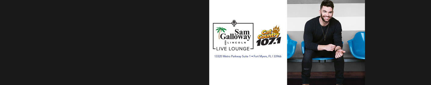 Dylan Scott Q&A in the Sam Galloway Lincoln Live Lounge