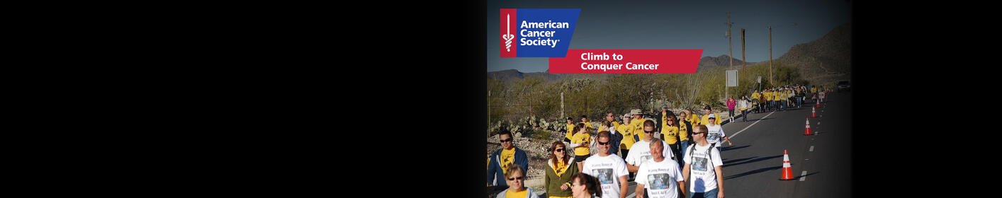 Join the American Cancer Society Climb to Conquer Cancer