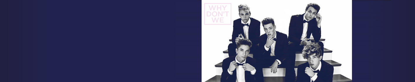 Listen All Weekend For Your Chance At SOLD OUT Why Don't We Tix & Soundcheck Party Passes!